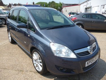 Vauxhall Zafira 1.9CDTI  DESIGN 150PS(7 SEATS)