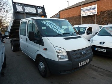 Ford Transit T350 Crew Cab Tipper 125ps