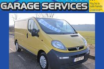 Vauxhall Vivaro great condition **no vat** wood lined