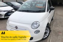 Fiat 500 POP 1.2 NICE SPEC £30 TAX ONLY 72,000 FSH SPARE KEYS NEW MOT PX WELCOME IDEAL FIRST CAR FINANCE AVAILABLE