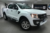 Ford Ranger 3.2TDCI 4X4 AUTO D/CAB WILDTRAK 200PS 6 Speed + MOUNTAIN TOP/ Heated Leather/ Navigation +++