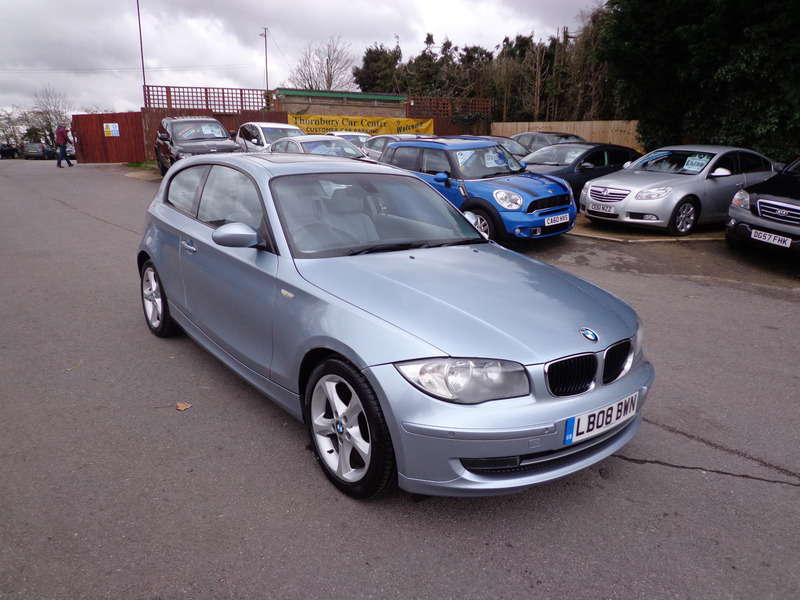 bmw 1 series 118d se thornbury car centre. Black Bedroom Furniture Sets. Home Design Ideas