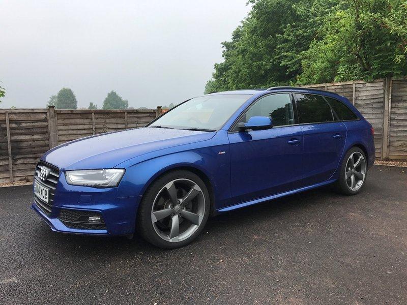 Audi A4 Avant 30 Tdi Black Edition Plus Avant S Tronic Quattro