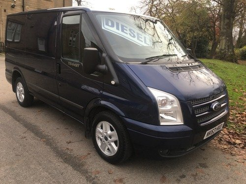Ford Transit 280 Limited Low Roof 140ps