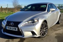 Lexus IS 300H F SPORT CVT 4 DOOR SALOON