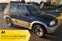 Suzuki Grand Vitara 16V - MOT 21/10/2021 - ANY PX WELCOME