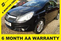 Vauxhall Corsa SXI AC6 MONTH AA WARRANTY-12 MONTH MOT-12 MONTH AA COVER-12 MONTH FULL SERVICE