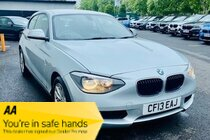 BMW 1 SERIES 116d SE £30.00 A YEAR TAX - BMW HISTORY - ALLOYS - FRONT & REAR PARKING SENSORS - BLUETOOTH - AIR CONDITIONING