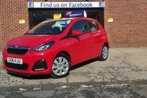 Peugeot 108 ACTIVE BUY ZERO DEPOSIT & ONLY £32 A WEEK T&C APPLY