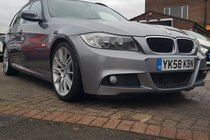 BMW 3 SERIES 2.0 320d M Sport Touring 5dr FSH, BMW PERFORMANCE PACK 200BHP