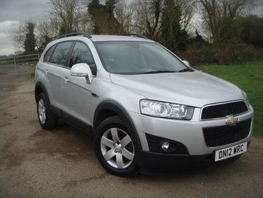 Chevrolet Captiva 2.2 VCDI 4WD 7 SEAT LT 184PS
