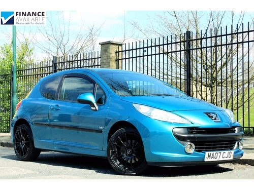 Peugeot 207 1.6 TURBO GT >> FINANCE AVAILABLE <<
