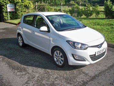 Hyundai I20 1.2 ACTIVE FULL SERVICE HISTORY BLUETOOTH AND AIR CONDITIONING