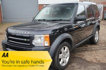 Land Rover Discovery TDV6 HSE E4 7 Seats AUTOMATIC- Stunning Condition -Diesel - Manual - 2009 - full black Leather Interior