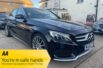 Mercedes C Class C250 D AMG LINE PREMIUM PLUS IN COMPLIANCE WITH COVID-19 ALL VEHICLES ARE AVAILABLE FOR VIDEO VIEWINGS & CONTACT FREE DELIVERIES
