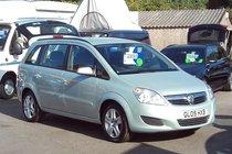 Vauxhall Zafira EXCLUSIV 1.6 76,000 MILES FULL SERVICE HISTORY