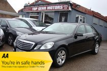 Mercedes E Class E220 CDI BLUEEFFICIENCY S/S SE