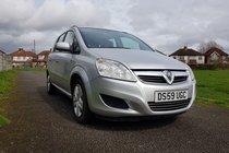 Vauxhall Zafira EXCLUSIV 1.6 16v VVT