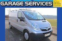 Vauxhall Vivaro LWB excellent condition **no vat** wood lined