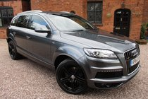 Audi Q7 TDI QUATTRO S LINE / One Owner From New / 4 AUDI Stamps