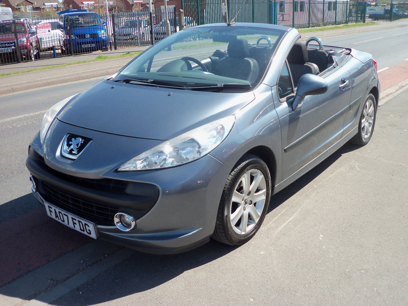 peugeot 207 sport coupe cabriolet mick dwane. Black Bedroom Furniture Sets. Home Design Ideas