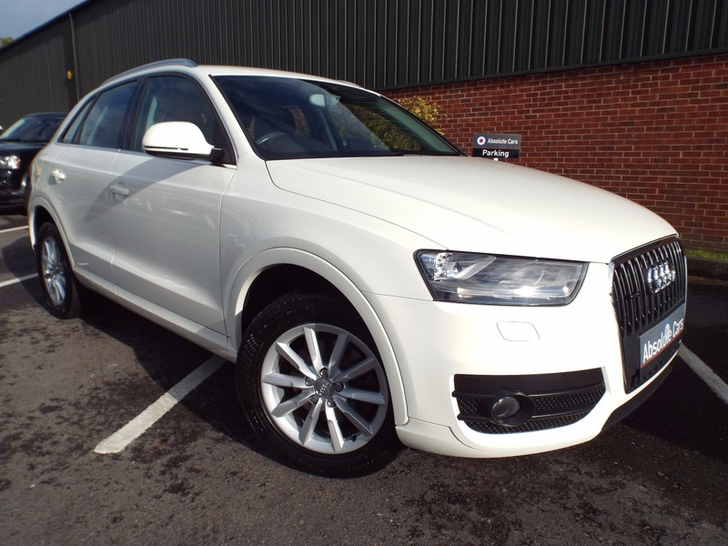 audi q3 2 0 tfsi se quattro 170ps auto low mileage long. Black Bedroom Furniture Sets. Home Design Ideas