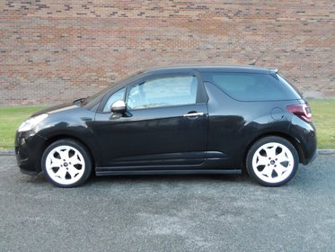 Citroen DS3 HDI BLACK AND WHITE