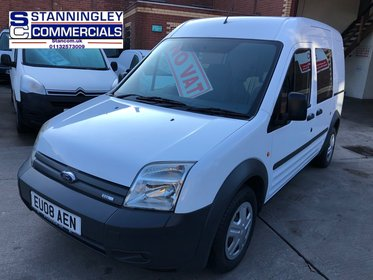 Ford Connect TDCI T230 LX LWB 90 Ex Police crew Van