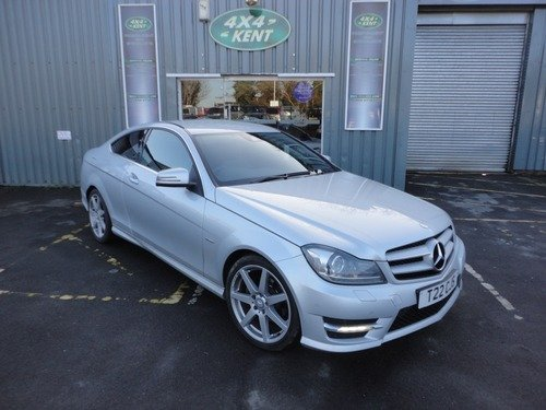 Mercedes C Class BLUE EFF AMG SPORT EDITION 125, PRIVACY GLASS, COMMAND SYSTEM