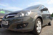 Vauxhall Zafira 1.7CDTI 16V  ECOFLEX DESIGN 125PS