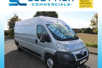 Peugeot Boxer HDI 335 L3H2 LWB GREAT CONDITION LOW MILES *NO VAT* PLY LINED YEARS MOT