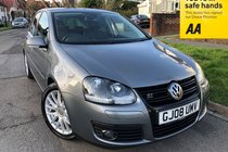Volkswagen Golf GT TDI 140-Hpi Clear-FSH-Leather-Stunner