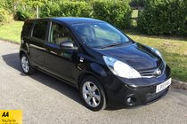 Nissan Note N-TEC FULL HISTORY SAT NAV RADIO CD AIR CONDITIONING