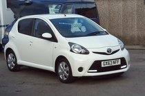 Toyota AYGO VVT-I MOVE WITH STYLE 1 OWNER SERVICE HISTORY