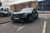 Mercedes C Class C220 BLUETEC AMG LINE PREMIUM PLUS