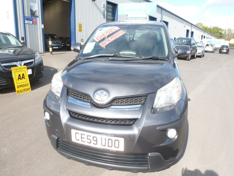 Toyota Urban Cruiser 14 D 4d 4wd 4x4 Carsure Of Rotherham