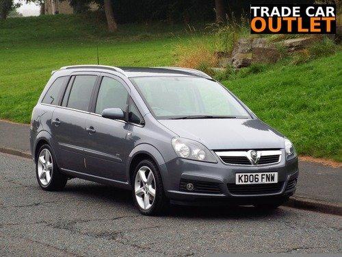 Vauxhall Zafira 1.8I 16V  SRI 140PS+NEW MOT