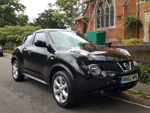 Nissan Juke 1.6 ACENTA 1 OWNER AND FULL NISSAN SERVICE HISTORY
