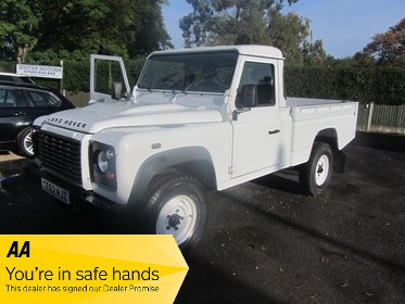 Land Rover Defender TD High Capacity Pick UP