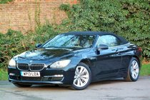 BMW 6 SERIES 640i SE Convertible
