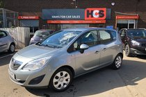 Vauxhall Meriva EXCLUSIV 1.4i 16v VVT Turbo (120PS)(a/c)
