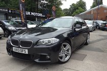 BMW 5 SERIES 520d M SPORT TOURING LOADED WITH EXTRAS!!