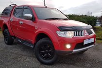 Mitsubishi L200 NO VAT DI-D 4X4 175 TROJAN DCB In Great Condition Full Leather, Fresh Mot & Serviced Fully Warranted With AA Cover
