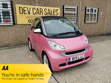Smart ForTwo 1.0 MHD Passion SoftTouch 2dr