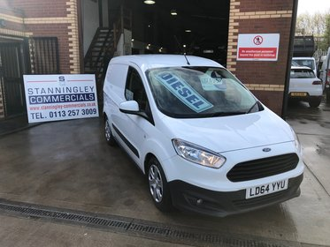 Ford Transit Courier Trend 1.6 TDCi Air Con, Sat Nav 95ps