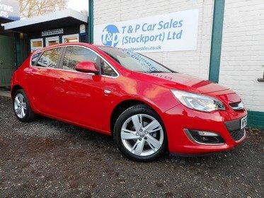 Vauxhall Astra 1.4i 16V VVT SRI 100PS 5 DOOR
