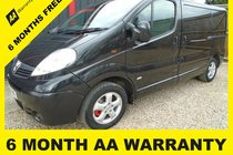 Vauxhall Vivaro 2700 CDTI SPORTIVE P/V6 MONTH WARRANTY-12 MONTH MOT-12 MONTH AA COVER-12 MONTH FULL SERVICE