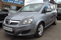 Vauxhall Zafira Exclusiv 1.7CDTi 16v (110PS) ecoFLEX
