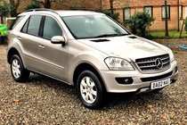 Mercedes M Class ML 320 CDI SE #4x4 #Driveawaytoday