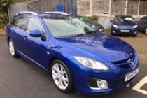 Mazda 6 2.2D SPORT 185PS Estate HALF LEATHER AND BOSE